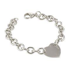 Sterling Silver Heart Bracelet from Borsheims for $115