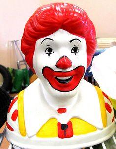 Old school Ronald McDonald