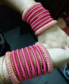 Thread Bangles Silk Thread Earrings, Silk Thread Bangles, Thread Jewellery, Bead Embroidery Jewelry, Beaded Embroidery, Chuda Bangles, Bridal Chuda, Bangle Set, Jewelry Patterns