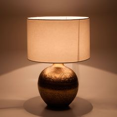 ENGRAVED METAL BALL LAMP - Lamps | Zara Home United Kingdom