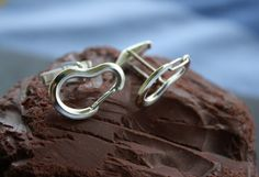 Climbing Carabiner Cufflinks with Fully Functional Carabiners - Cufflinks for Rock Climbers - Rock Climbing Jewelry  #rock #climber #gift