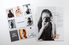 """Scrapbook inspiration. But not a divided page. Although I wouldn't do a page on selfies. :) I want the """"photo love"""" embellishment ever so."""