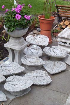 gartendeko-beton-rhabarberblaetter-selbstgemacht