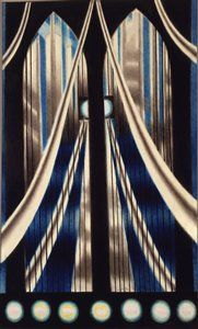 "Joseph Stella. ""Brooklyn Bridge"" SFMOMA Permanent Collection"