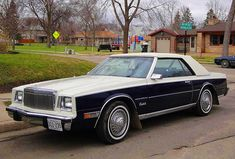 Commentary - Giving car buying advice to those you're not sure are listening. Old American Cars, American Auto, American Classic Cars, Retro Cars, Vintage Cars, Chrysler Cordoba, Dodge Chrysler, Luxury Cars, Cool Cars