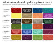 Better Homes and Gardens Front Door Color Chart