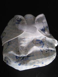 Cover impermeabile taglia unica per pannolini lavabili con chiusura in velcro…