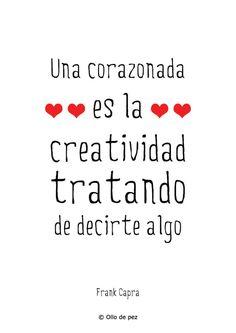Una corazonada es la creatividad tratando de decirte algo, Frank Capra