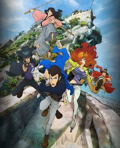Anunciado el reparto principal del Anime Lupin the Third 2015.