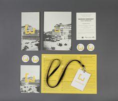 Warsaw's Biography conference on Behance Letterhead Design, Brochure Design, Branding Design, Conference Branding, Design Campaign, Brand Manual, Event Branding, Packaging Design Inspiration, Visual Identity