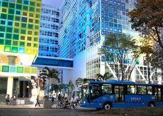 En el edificio Vida, el imponente complejo médico de colores localizado en los alrededores de Imbanaco, funcionan 339 oficinas y locales comerciales.