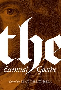 The Essential Goethe : Book Cover Archive