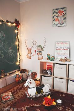 Vintage-Inspired-Playroom-Decorated-for-Christmas