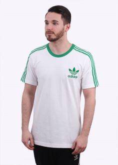 154bc70ed4aaf Adidas Originals Apparel Adicolour Fashion Tee - White / Green V83n | 100%  authentic,
