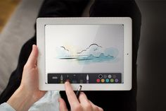 Another day, another revolutionary iPad app. Paper  is an absolutely beautiful app for creating anything you would normally do on real paper So if you want to sketch, write, draw, outline, and color, you've found the most elegant app for doing so