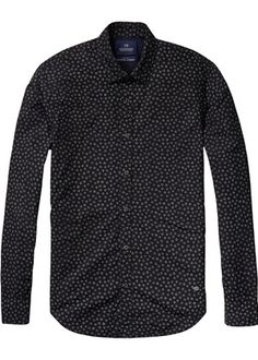 Buy Scotch & Soda Longsleeve Shirt with all-over Printed Pattern. Free UK Delivery available on all purchases at Dapper Street. Scotch Soda, Dapper, Long Sleeve Shirts, Men Sweater, Shirt Dress, Couture, My Style, Pattern, Sweaters