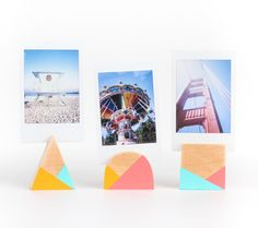 Geometric Photo Holders