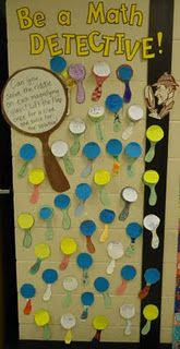 Interactive Math bulletin board