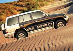 Mitsubishi Pajero from latest series