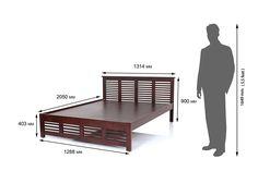 Wood Bed Design, Door Design, Bedroom Furniture Design, Bed Furniture, Japanese Bed Frame, Wooden King Size Bed, Pop False Ceiling Design, Barbie Room