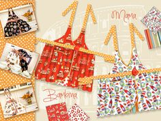 Mother-Daughter Apron Set | Sew4Home