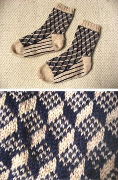 Calcetines de Route 66 del libro de Stephanie Van Der Linden Around the World en Knitt … - Tejido de Punto Knitting Charts, Knitting Stitches, Knitting Designs, Knitting Socks, Knitting Projects, Hand Knitting, Knitting Buttonholes, Double Knitting, Crochet Socks