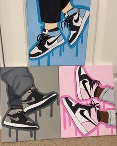Easy Canvas Art, Simple Canvas Paintings, Small Canvas Art, Cute Paintings, Mini Canvas Art, Diy Canvas, Canvas Draw, Disney Canvas Art, Easy Canvas Painting