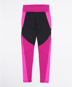 Workout tights with high waist and wide waistband for more comfort while exercising | Gina Tricot Active Sports | www.ginatricot.com | #ginatricot