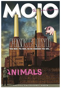 dff929ceab6 New MOJO magazine celebrates 40 years of Pink Floyd  Animals album. A  Limited Edition with an   lenticular cover is available online.