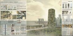 Singapore Bamboo Skyscraper Competition Winners