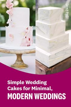 Looking for simple wedding cake ideas? Check out these top modern wedding cake picks from The Knot editors and find everything from minimalist cakes to multi-tier wedding cakes made to match your modern wedding. Personalize your wedding and put a spin on tradition with The Knot's customizable wedding websites, wedding invitations, registry (and more!). Not sure where to start? Get ideas and advice from our editors on everything from wedding colors and venue types to all things guest. Wedding Colors, Wedding Ideas, Cake Picks, Sugar Flowers, Wedding Website, Simple Weddings, How To Make Cake, Vanilla Cake, Cake Ideas