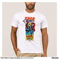 Thor Retro Comic Graphic