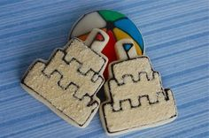 Great sand castle cookies