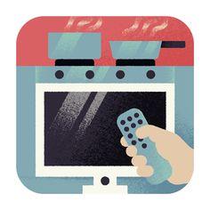 Aron Vellekoop León   Illustration - Wall Street Journal - Baking