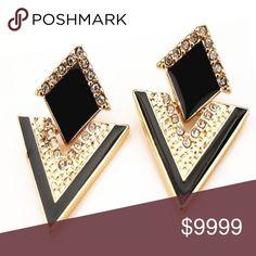 Crystal Stud Earrings crystal stud earrings brand new Jewelry Earrings