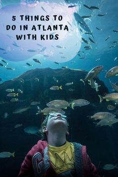 When looking for things to do in Atlanta with kids you can't go past the big 5. Coca-Cola, CNN, Olympic Park, the Aquarium & the Children's Museum.
