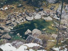 A little #pond next to the #mountain #lake #eibsee.  http://bit.ly/eibsee-7