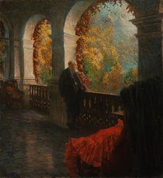 Theodor Billroth Portrait by Ferdinand Dorsch