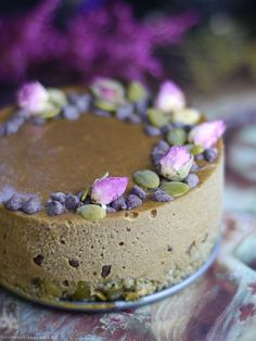 Pumpkin Seed Butter Ice Box Cake (Free From: gluten & grains, dairy, eggs, added oils, nuts, and refined sugar)