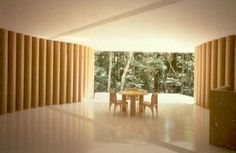 ShigeruBan Paper house inside