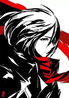 Mikasa from Attack On Titan #anime #manga