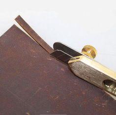Magische Show Leder Craft DIY Tool Kit Kupfer Positionierung Cutter Lederhandwerk Tools ohne Klinge TO65
