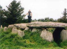 Dolmen del siglo IV antes de Cristo, en Carnac, en la Bretaña francesa