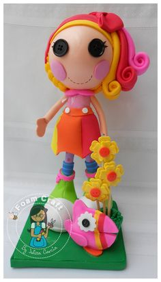 April sunsplash lalaloopsy foam doll by julissagarcia2 on Etsy, $19.95