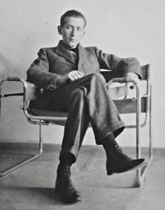 Marcel Bruer and his chair. Bruer and Herbert Beckhard designed a summer house in Mantoloking, NJ in the 1960's. Zippertravel.com Digital Edition