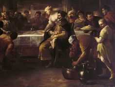 The Athenaeum - The Parable of the Prodigal Son: The Fatted Calf (Luca Giordano - )