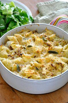פסטה אפויה עם כרובית וגבינה Easy Cooking, Cooking Recipes, Veggie Patties, Good Food, Yummy Food, Breakfast For Dinner, Everyday Food, How To Cook Pasta, Organic Recipes