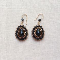 Miguel Ases Style Bling Earrings by Lisa Yang Jewelry: DIY