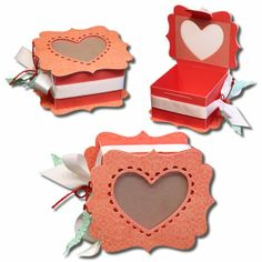 Bits of Paper: Valentine Favor Boxes