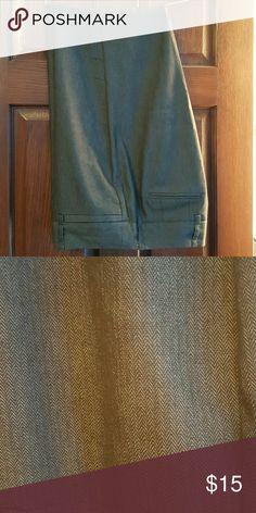 Larry Levine stretch trouser slacks Perfect for work slacks, brown Larry Levine Pants Trousers